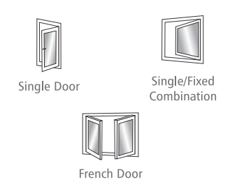 pintu jendela upvc model swing