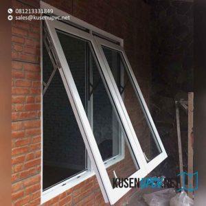 contoh daun jendela upvc model jungkit conch id8247