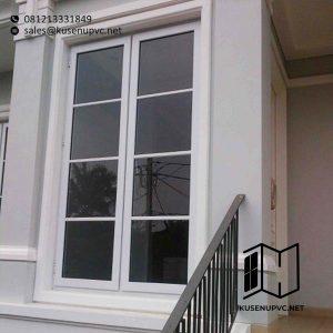 Jendela UPVC Conch Warna Putih id5884
