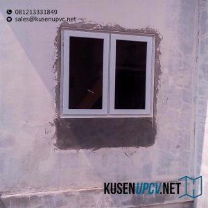 Jendela UPVC Warna Putih Klien Rawa Buntu Bsd Serpong Tangerang Id5657