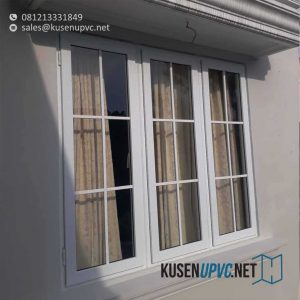 Jendela UPVC Warna Putih Project Kemang Utara Mampang Prapatan Jakarta id5694