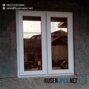 Jual Jendela UPVC Warna Putih Project Perum Bukit Berlian Padalarang Bandung id5739