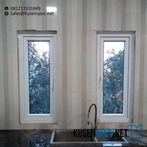 Jual Jendela UPVC Warna Putih id5739