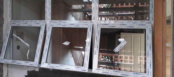 Jual Jendela UPVC Warna Putih Klien Pondok Jaya Mampang Prapatan Jakarta Id6123