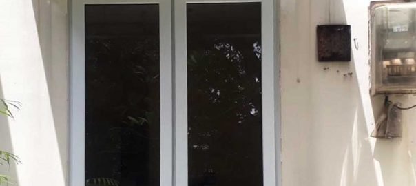 Jual Jendela UPVC Jungkit Warna Putih Gondangdia Menteng Jakarta id6148