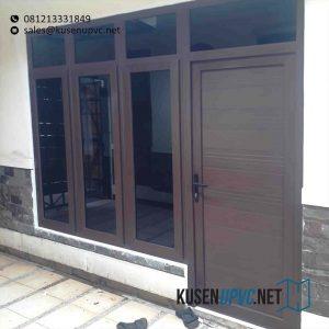 Pintu UPVC Warna Coklat Terbaru id5857