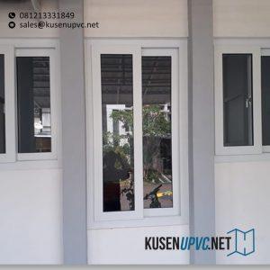 Jendela UPVC Sliding Putih Cluster Emerald Terrace Bintaro Pondok Aren Tangerang Id6366