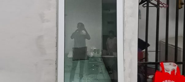 Jendela UPVC Murah Jungkit Putih Panda Raya Pladen Pondok Ranji Ciputat Timur ID5593