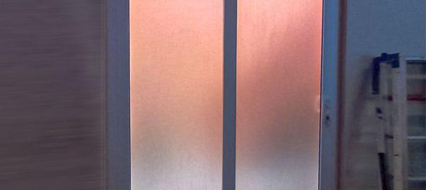 Pintu UPVC Sliding Putih Komplek Bumi Pesanggrahan Mas Pesanggrahan Jakarta ID5720