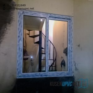 Jual Jendela UPVC Sliding Putih Perumahan Nuansa Asri Cipadu Pondok Aren Tangerang Id6585