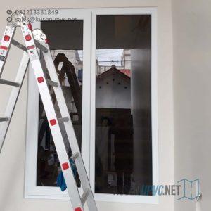 Harga Jendela UPVC Jungkit Putih Rusin Raya Pondok Aren Tangerang Id6077