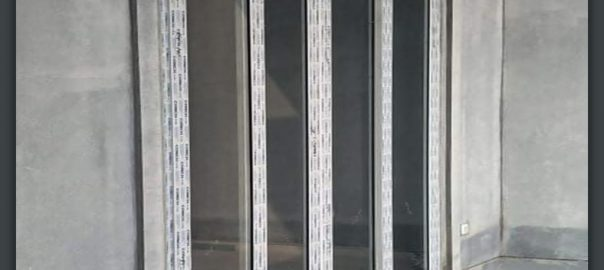 Jual Pintu UPVC Putih Model Folding Perumahan Water Point Citra Raya Panongan Id6313